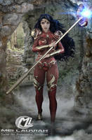 Warrior Princess Lidhet by MLauviah