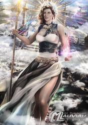 Goddess Aedna by MLauviah