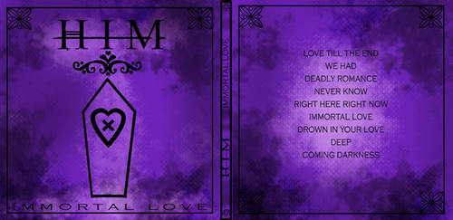 Immortal Love-HIM CD cover by LOVE-HIM