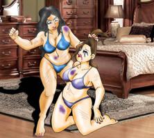 BBW Bedroom Battle by KatrinaMacbeth