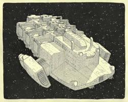Freighter by VinceAndrews