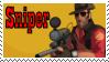 TF2 Stamp - Sniper by ririnyan