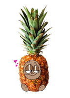 pineapples by NEON-ZOMBIE-BABE
