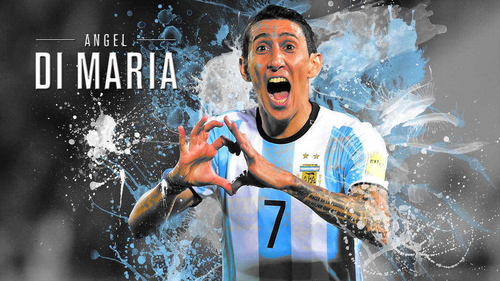 Angel Di Maria Wallpaper By Mitchellcook On Deviantart