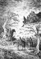 Ringwraiths by weremoon