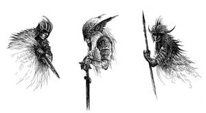 concept sketches.2 by weremoon