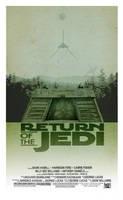 Return of the Jedi - Minimalist Poster by 3ftDeep