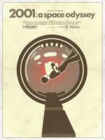 2001: A Space Odyssey - Alternative Movie Poster by 3ftDeep
