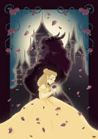 Beauty and the beast by artbyTorre