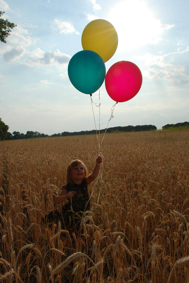 In a field of wheat_1 by anastasiya-landa