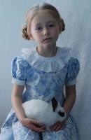Anastasiya and  bunny_1 by anastasiya-landa