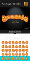 Pumpkin Alphabet and Numbers by Itembridge