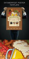 Oktoberfest Poster Template by Itembridge