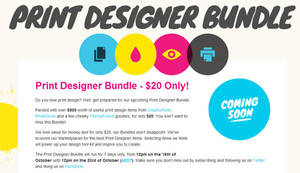 Print Designer Bundle by Itembridge