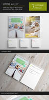 Photorealistic Notepad Mock-up by Itembridge