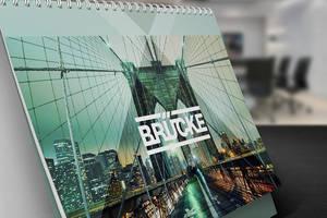 Desk Calendar Mock-Up by Itembridge