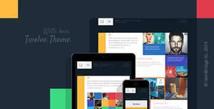 Twelve Original Creative WordPress Theme by Itembridge