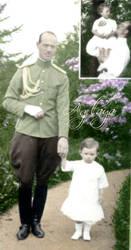 Misha with baby Georgiy by olgasha