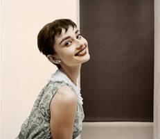 Audrey Hepburn III by olgasha