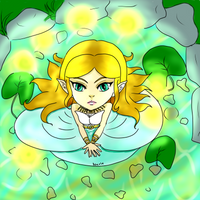 Princess Of Destiny [Chibi] by IcyRaine