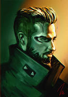 Deus Ex: Mankind Divided by thesimplyLexi
