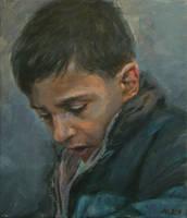 Palestinian Boy in Jerusalem by CYLex
