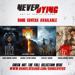 Book Covers Available to buy by neverdying