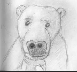 Ice bear by mediocrart