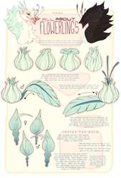 All About Flowerlings - The Bulb by mute-owl