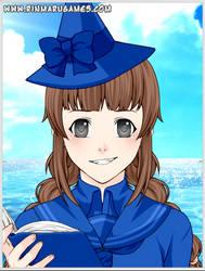 Wadanohara and the GBS - Wadonohara (Anime Style) by NicosGirl4ever