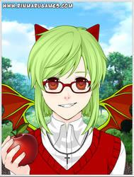 The Gray Garden- Yosafire (Anime Style) by NicosGirl4ever
