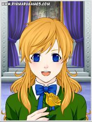 Ib- Mary (Anime Style) by NicosGirl4ever