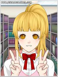 Misao- Saotome (Anime Style) by NicosGirl4ever