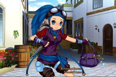 Yuna Sonoda: Thief by NicosGirl4ever