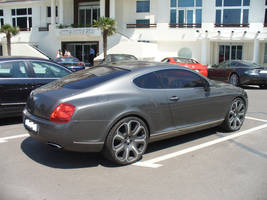 bentley continental gt side by Dj-Steaua