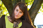 Green girl by Dj-Steaua