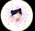 Happy Meloditchi Coloured Medal by RocketLaramie