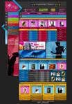 Webdesign - 'Write Me' by CybertronicStudios