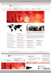 Webdesign - 'SPC' by CybertronicStudios