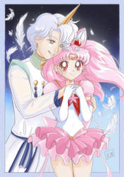 Eternal Chibimoon and Helios by Stone-Umbrella