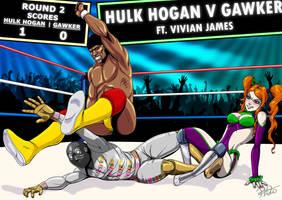 Hulk Hogan v Gawker: Round 2 by ashion