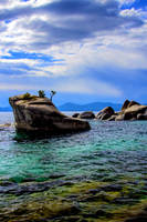 Bonsai Rock at Lake Tahoe by sellsworth