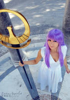 Athena - Saint Seiya by theredviper