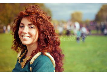 Lucca Comics and Games 2013 - Merida by theredviper