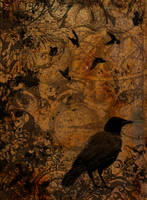 Steampunk Raven by thechangelingmedusa
