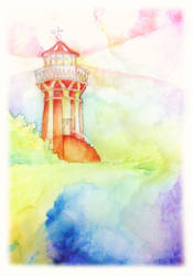 the lighthouse by alizarin