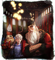 Rise of the Guardians by hoo0