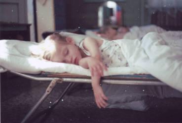 sleeping child by NPenguin