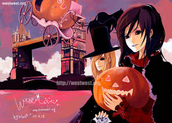 Halloween by XingtongLu