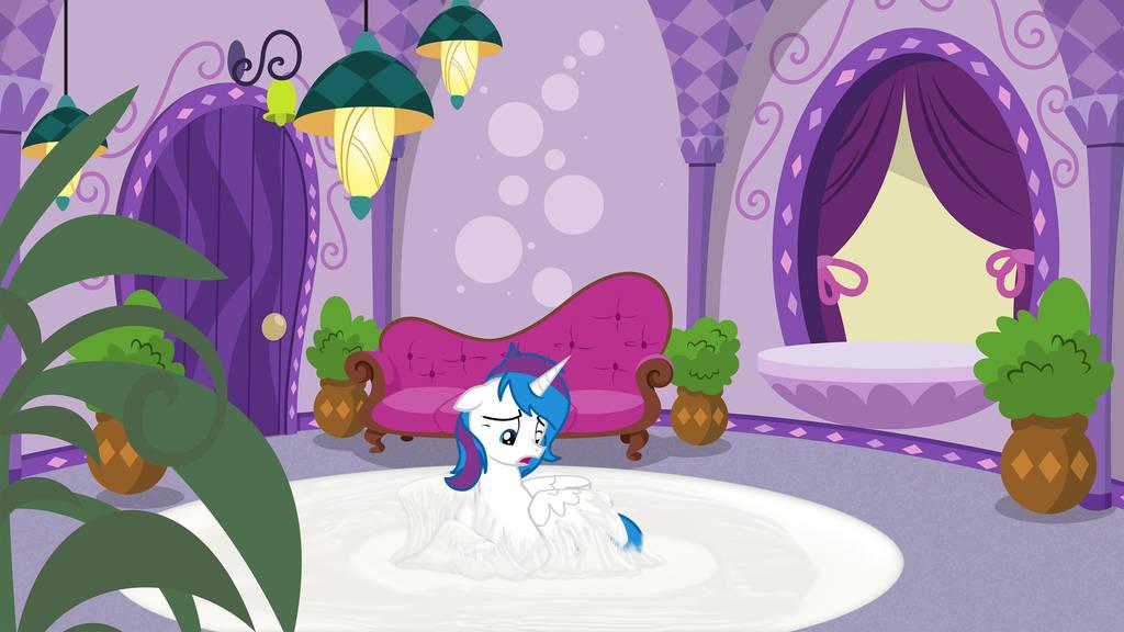 White carpet and princess by dingdingxu377